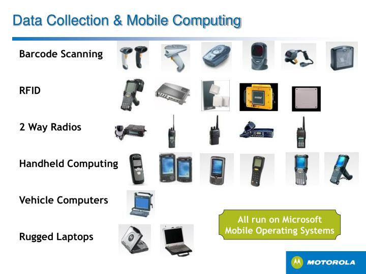 Data Collection & Mobile Computing