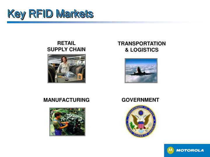 Key RFID Markets