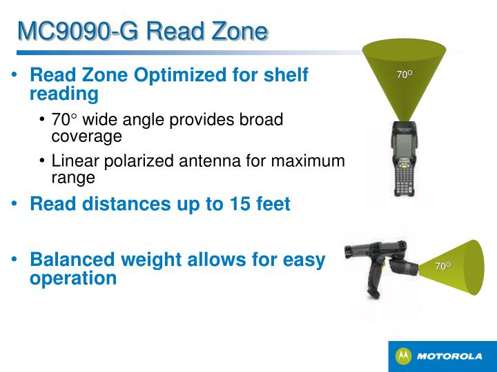 MC9090-G Read Zone