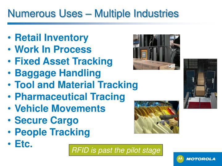 Numerous Uses – Multiple Industries