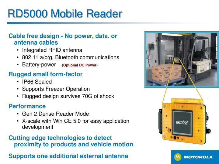 RD5000 Mobile Reader
