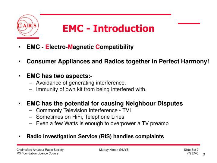 EMC - Introduction