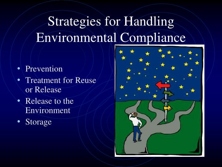 Strategies for Handling Environmental Compliance