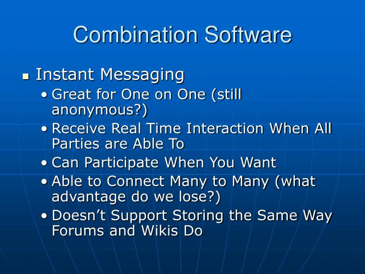 Combination Software