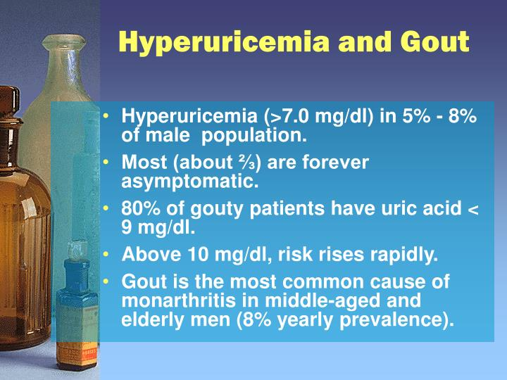Hyperuricemia and Gout