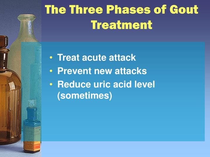 The Three Phases of Gout Treatment