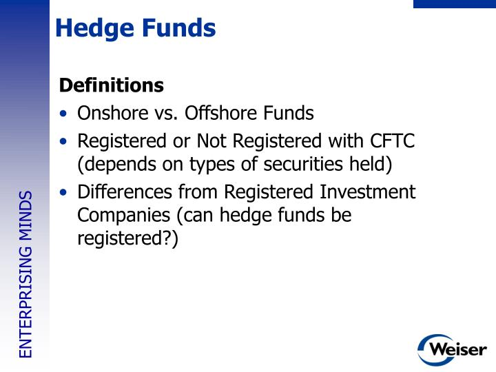 Hedge Funds