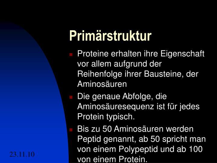 Informationen zu Proteinen