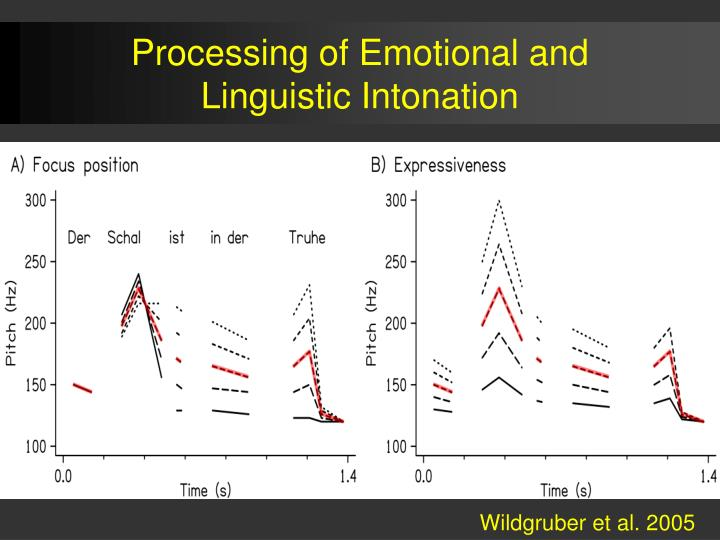 Processing of Emotional and