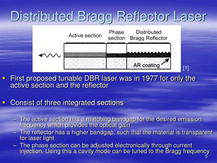 Distributed Bragg Reflector Laser