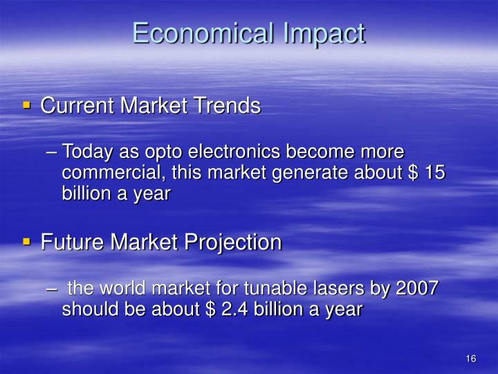 Economical Impact