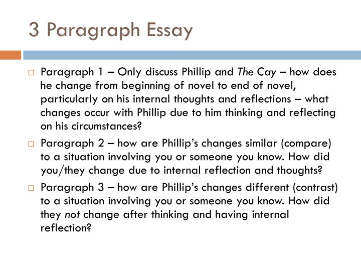 How to write a compare contrast paragraph template