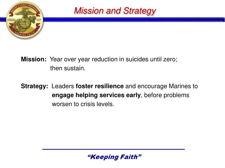 Mission and Strategy