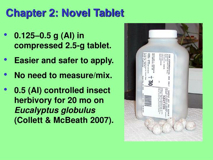 Chapter 2: Novel Tablet