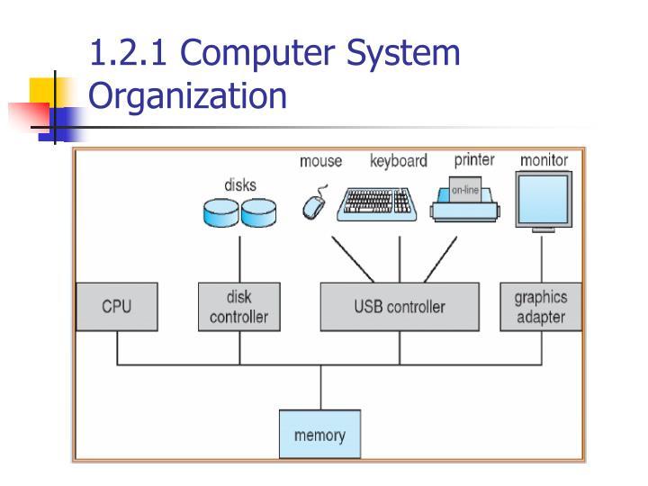 1.2.1 Computer System Organization
