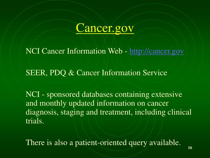 Cancer.gov