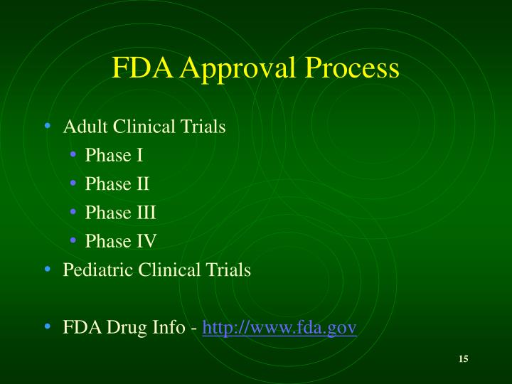 FDA Approval Process