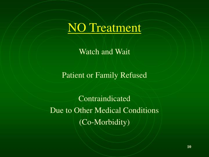 NO Treatment