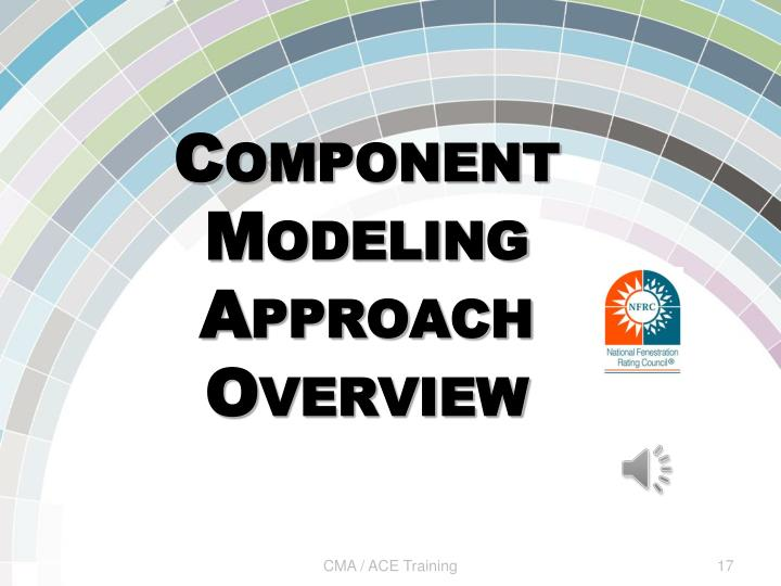Component Modeling Approach Overview