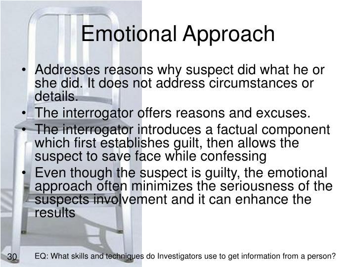 Emotional Approach
