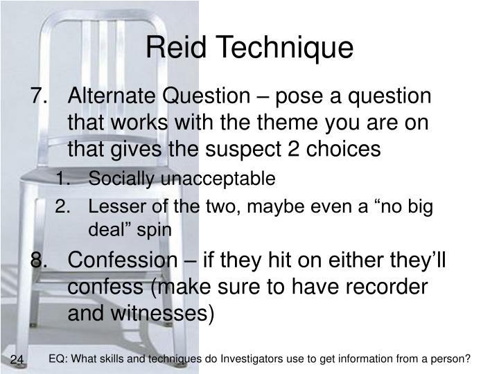 Reid Technique