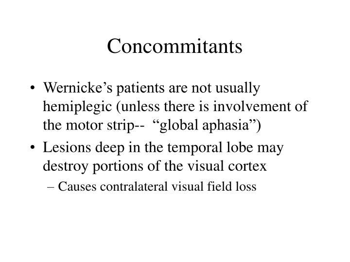 Concommitants