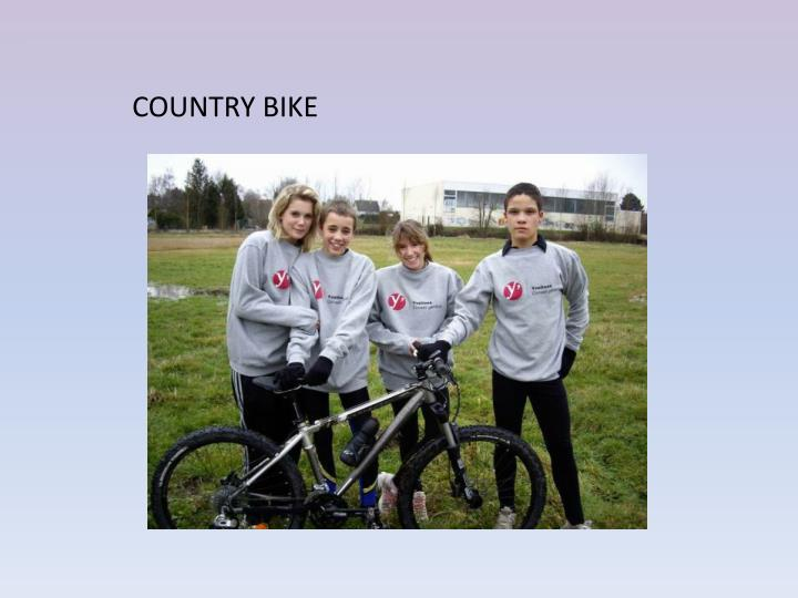 COUNTRY BIKE