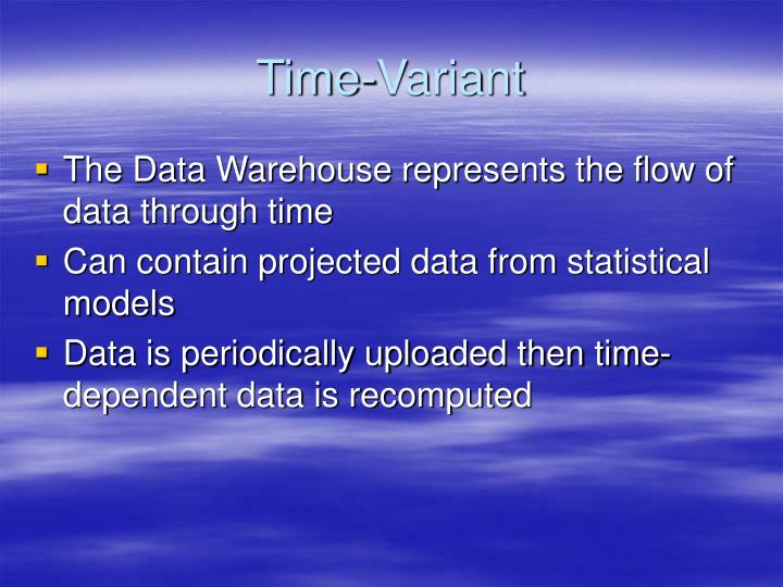 Time-Variant