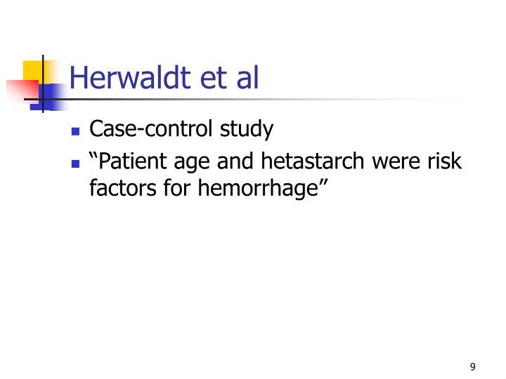 Herwaldt et al