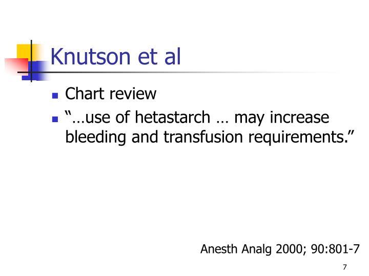Knutson et al