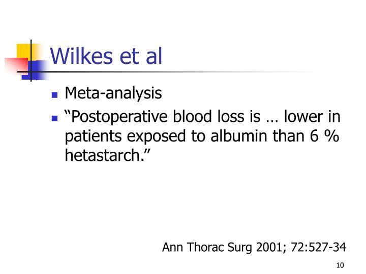 Wilkes et al
