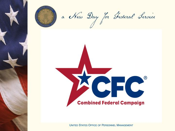 2014 combined federal campaign cfc application training