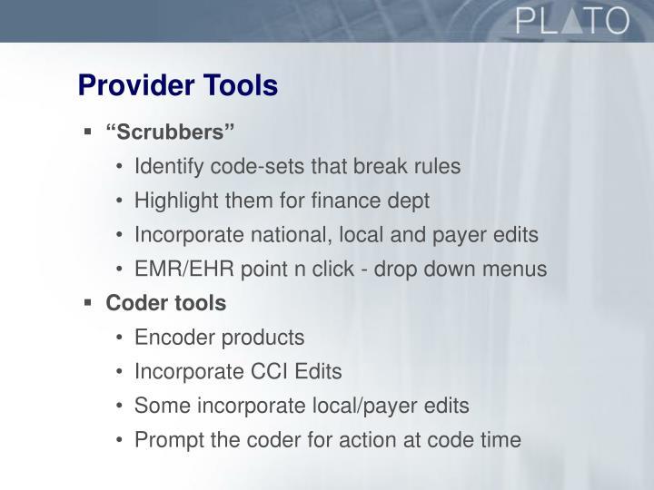 Provider Tools