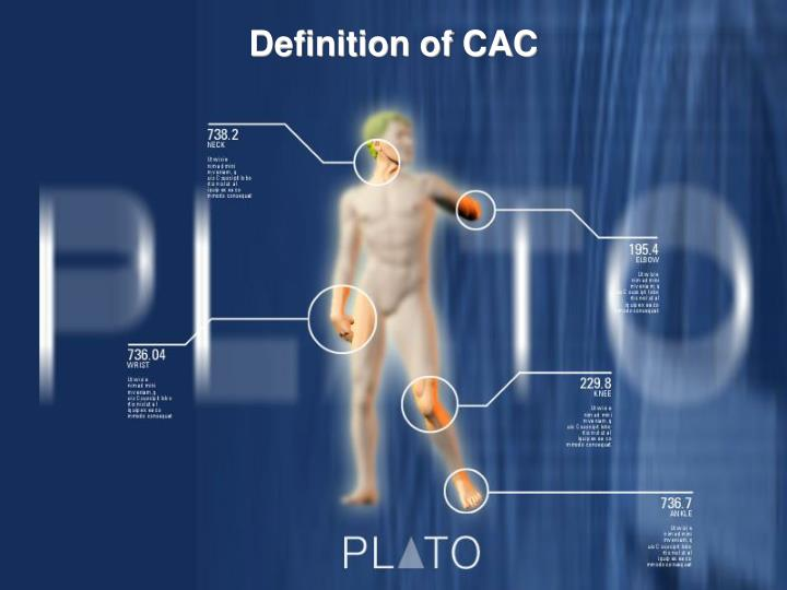 Definition of CAC