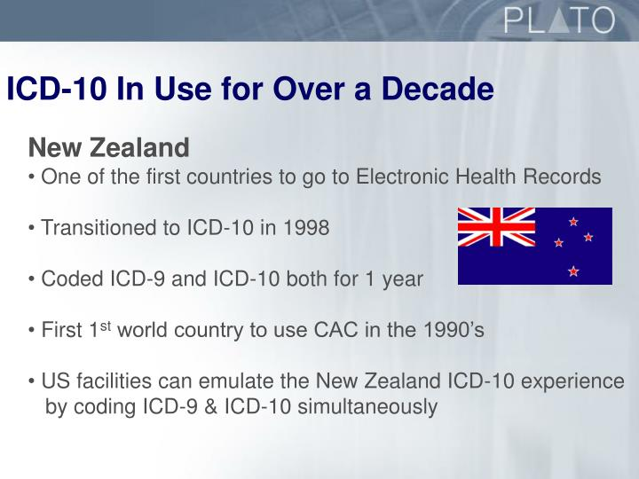 ICD-10 In Use for Over a Decade