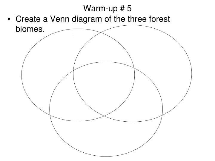 Warm-up # 5