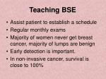 teaching bse