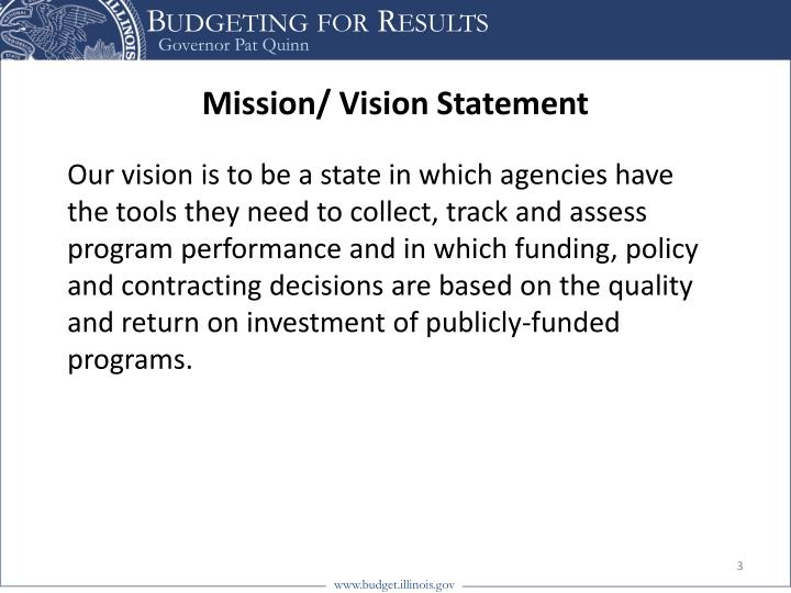 Mission vision statement1