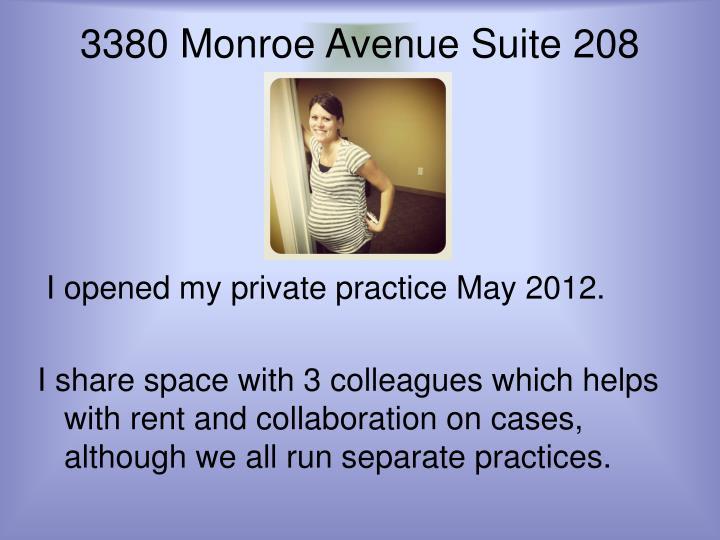 3380 Monroe Avenue Suite 208