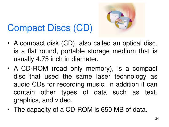 Compact Discs (CD)