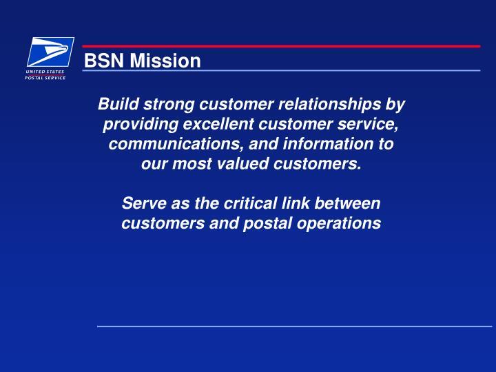 BSN Mission