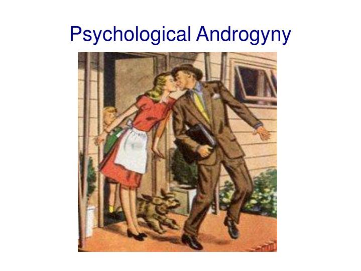 Psychological androgyny