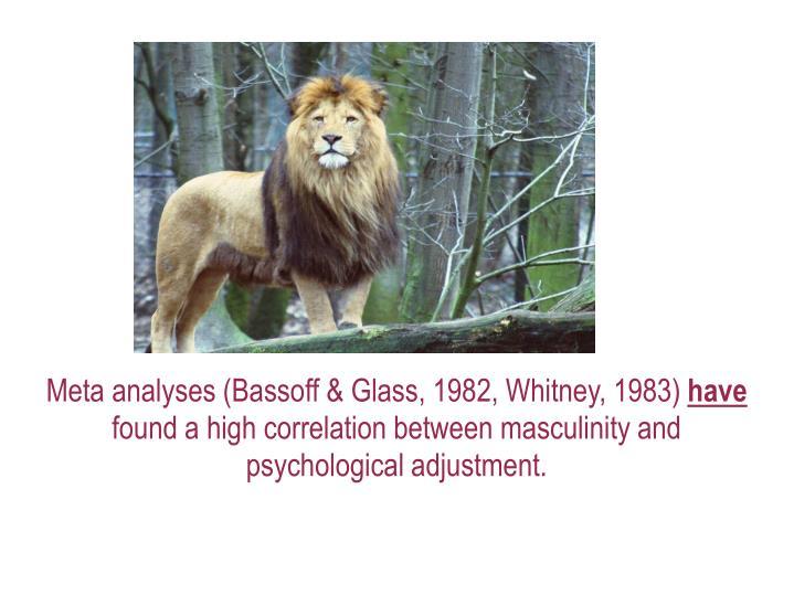 Meta analyses (Bassoff & Glass, 1982, Whitney, 1983)