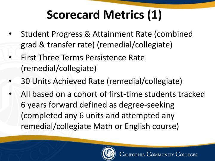 Scorecard Metrics (1)