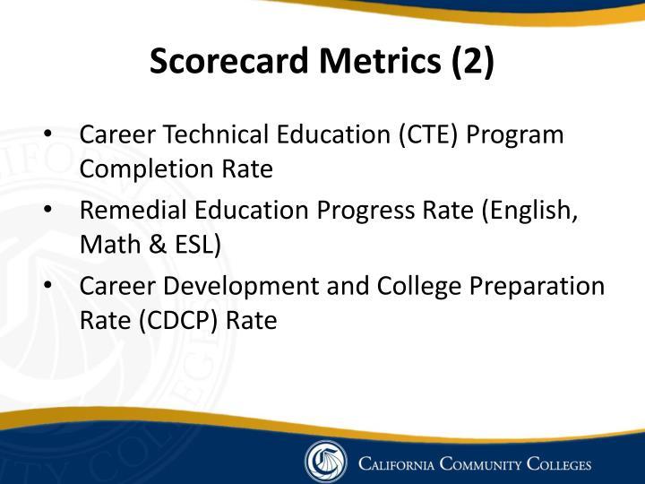 Scorecard Metrics (2)