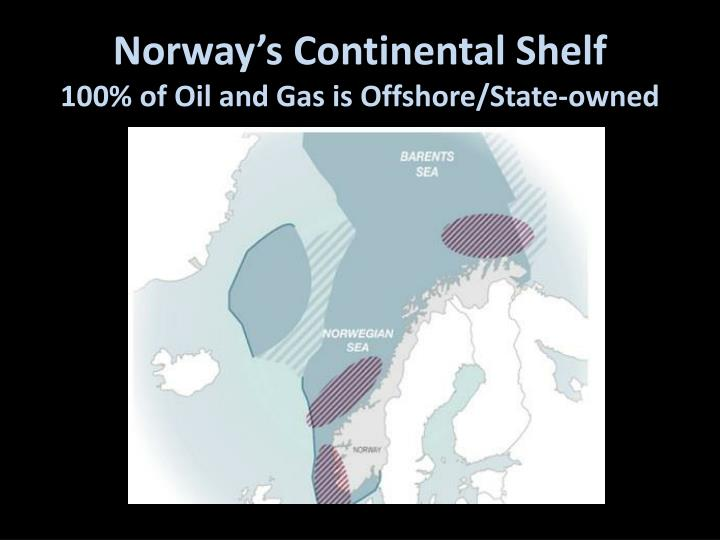 Norway's Continental Shelf