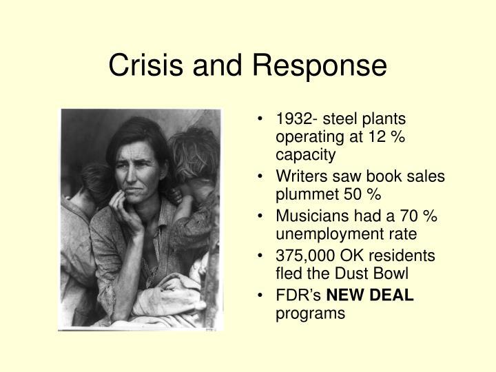 Crisis and Response