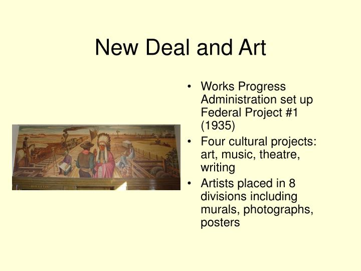 New Deal and Art