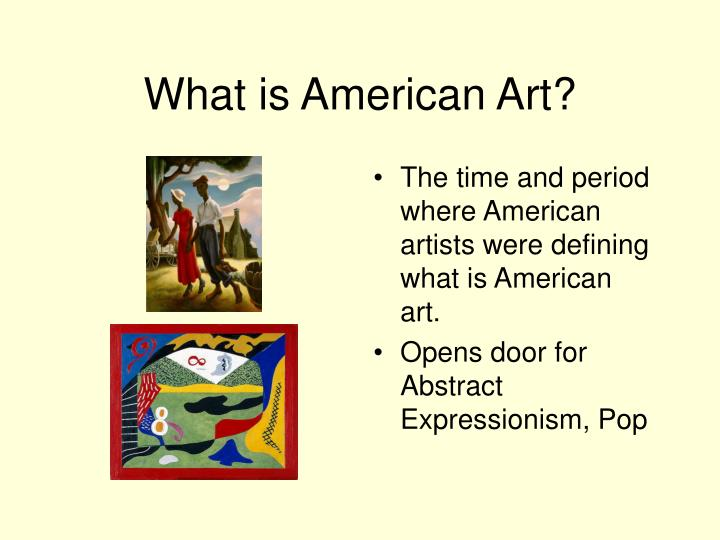 What is American Art?