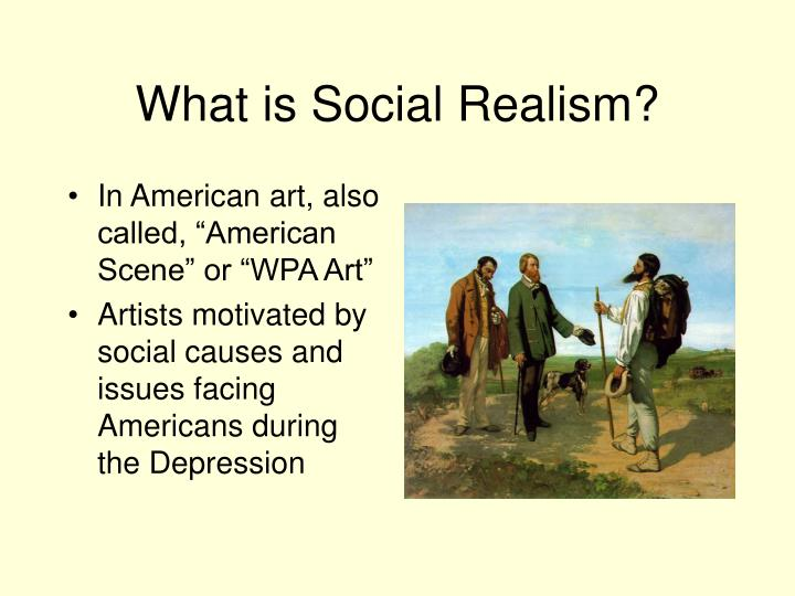 What is Social Realism?
